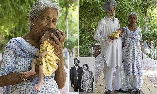 O indianca a nascut natural la 72 de ani, iar o femeie de 64 de ani din Spania a adus pe lume gemeni. Cum arata micutii VIDEO | Demamici.ro