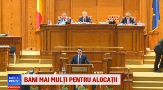 Parlamentarii au votat marirea alocatiilor de la 1 martie cu 123 de voturi pentru si 119 impotriva! PSD vrea reluarea votului | Demamici.ro