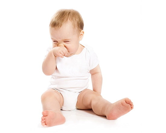 Bebelusul meu stranuta foarte des. De ce?