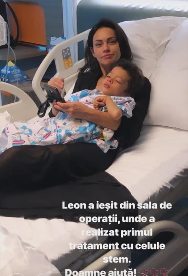 Primele vesti despre fiul lui Kamara. Leon a facut primul tratament cu celule stem | Demamici.ro