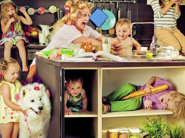 Mamele care au mai mulți copii ar putea trăi mai mult