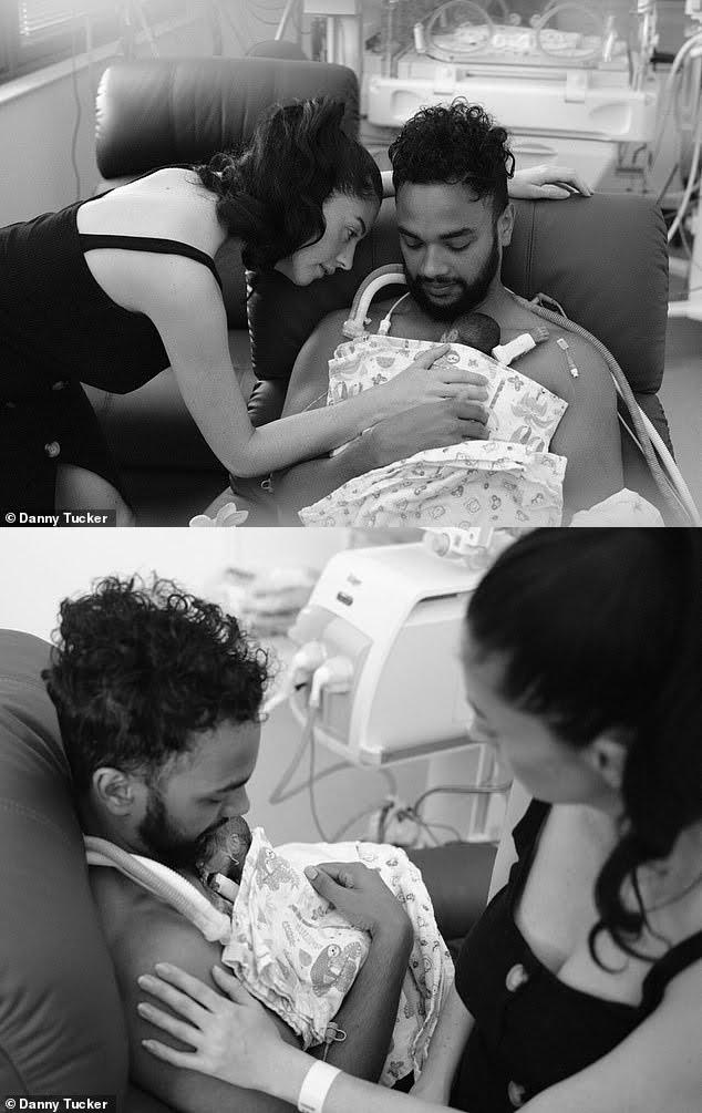 S-au casatorit cu doar 4 zile inainte ca bebelusul lor nascut prematur sa moara