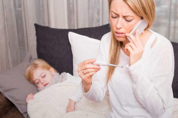 Totul despre febra la copii