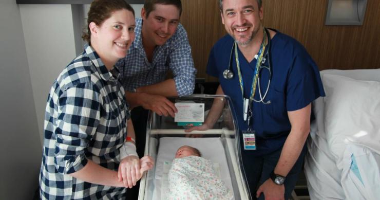 Se intampla o data la 48 de milioane de nasteri. Fetita care i-a uimit pe medici | Demamici.ro