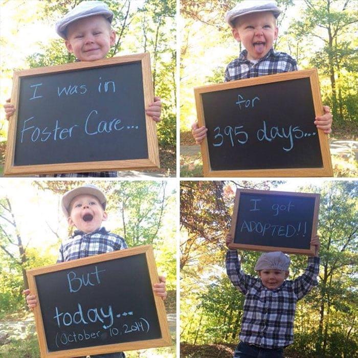 Reactia copiilor in ziua in care sunt adoptati