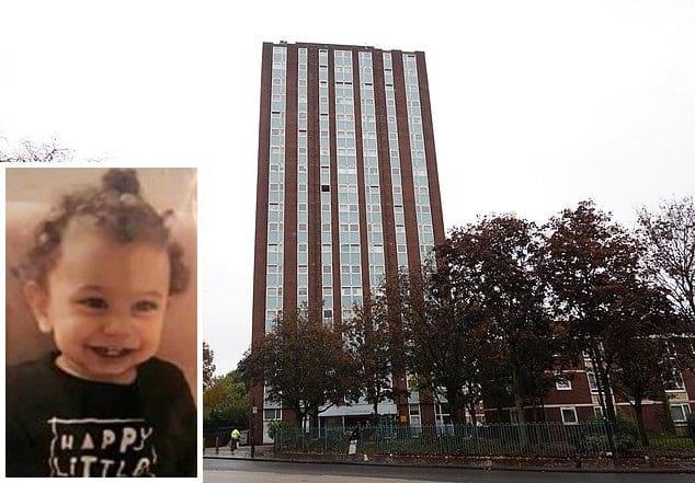 Copilul a cazut de la etaj