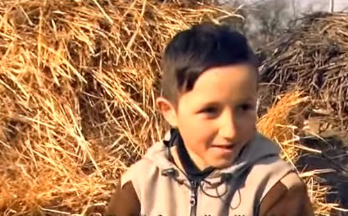 Copii orfani din Ruginoasa