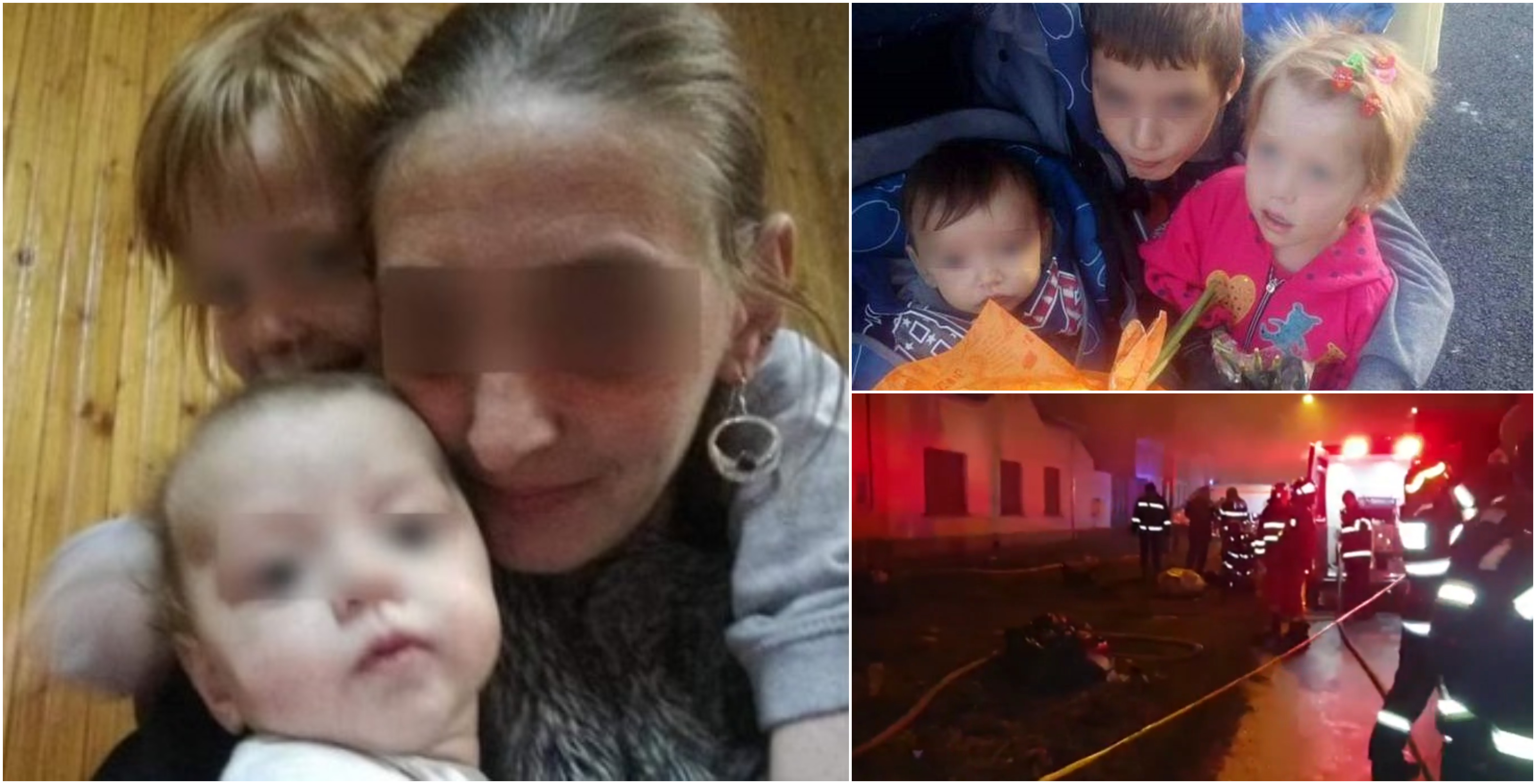 4 frati si-au gasit sfarsitul in locuinta cuprinsa de flacari. Parintii i-au lasat in grija fratelui mai mare VIDEO | Demamici.ro