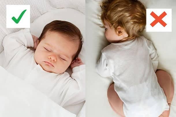 Bebe doarme corect
