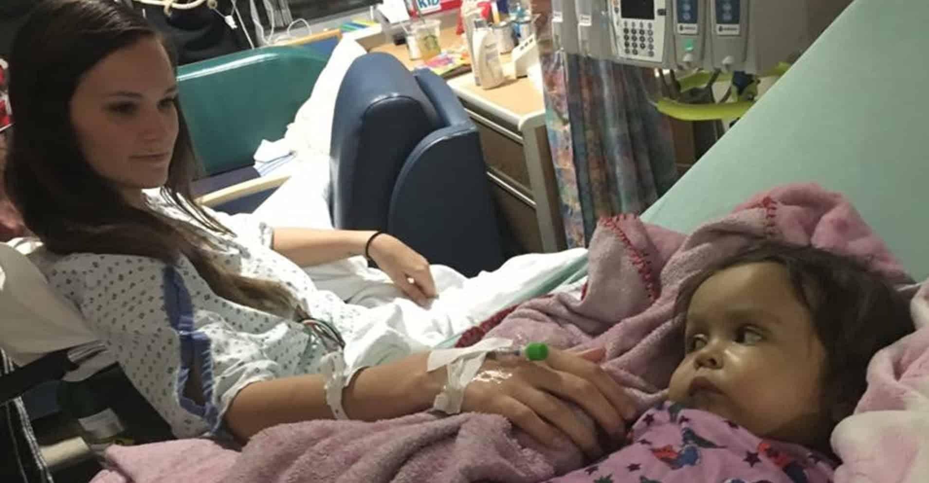 O bona si-a donat o parte din ficat fetitei de 1 an si 4 luni pe care o ingrijea pentru a-i salva viata  | Demamici.ro