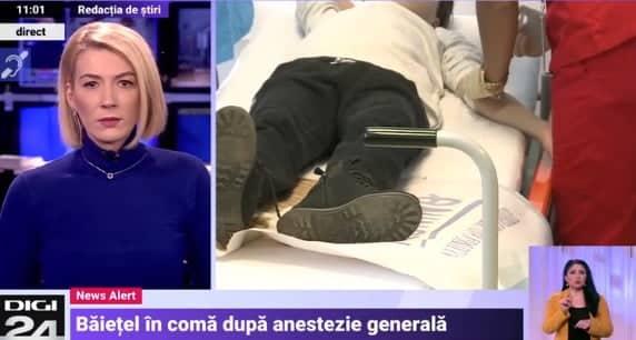 Un baietel de 4 ani din Pitesti, in coma dupa o anestezie la stomatolog VIDEO   Demamici.ro