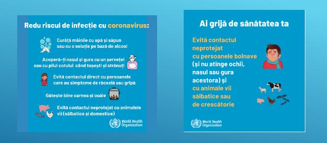 Coronavirus, cum sa te protejezi de infectarea cu Covid-19 . Sfaturi de sanatate publica OFICIALE oferite de Centrul National de Supraveghere si Control al Bolilor Transmisibile (CNSCBT) | Demamici.ro
