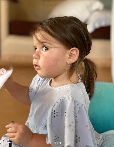 Laura Cosoi si-a dus fetita la balet. Rita are un an si 8 luni | Demamici.ro