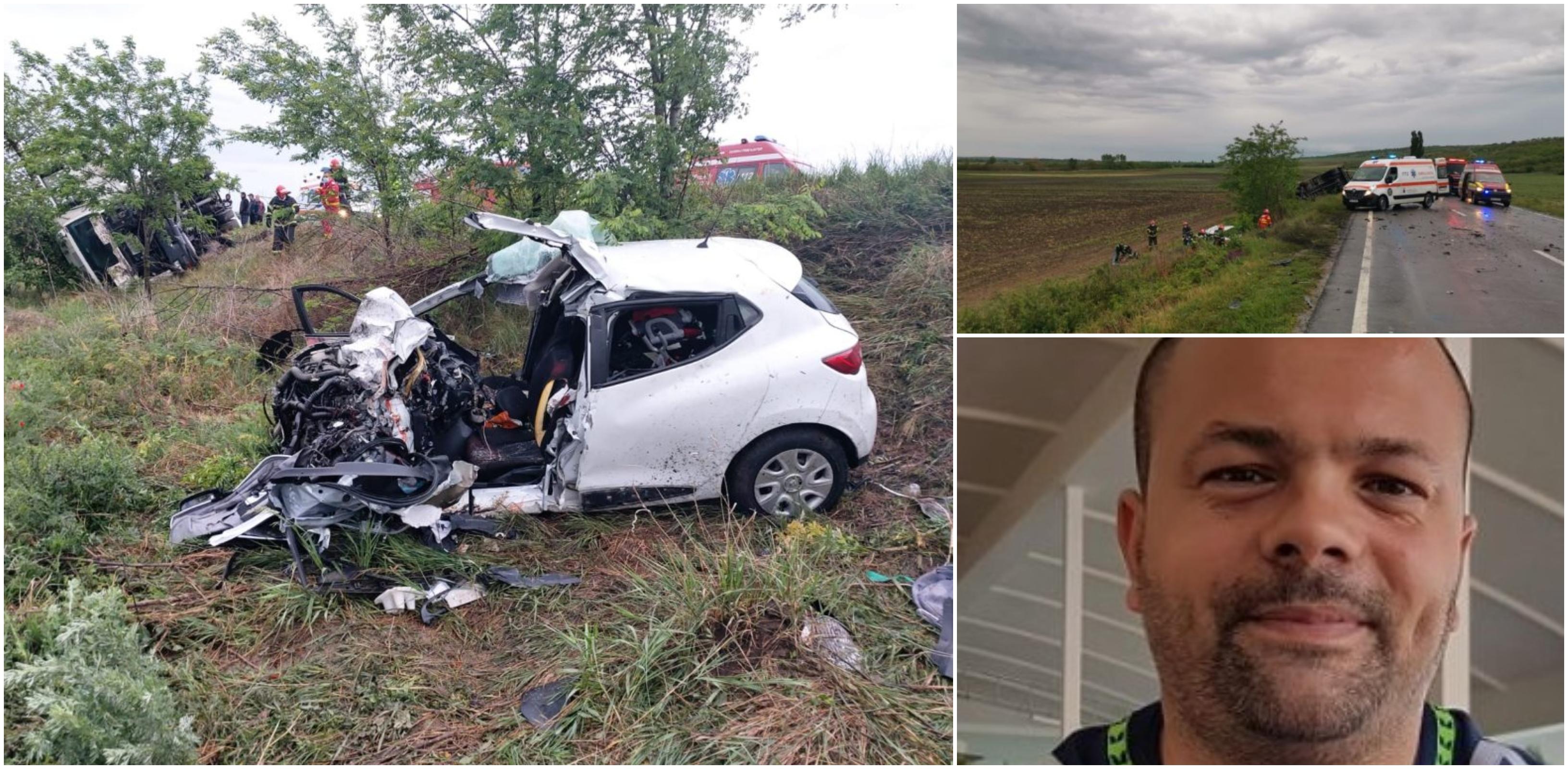 Doi tineri părinți și bebelușul lor de 10 luni au murit în Galați. Un polițist a plâns când a ajuns la scena accidentului rutier | Demamici.ro