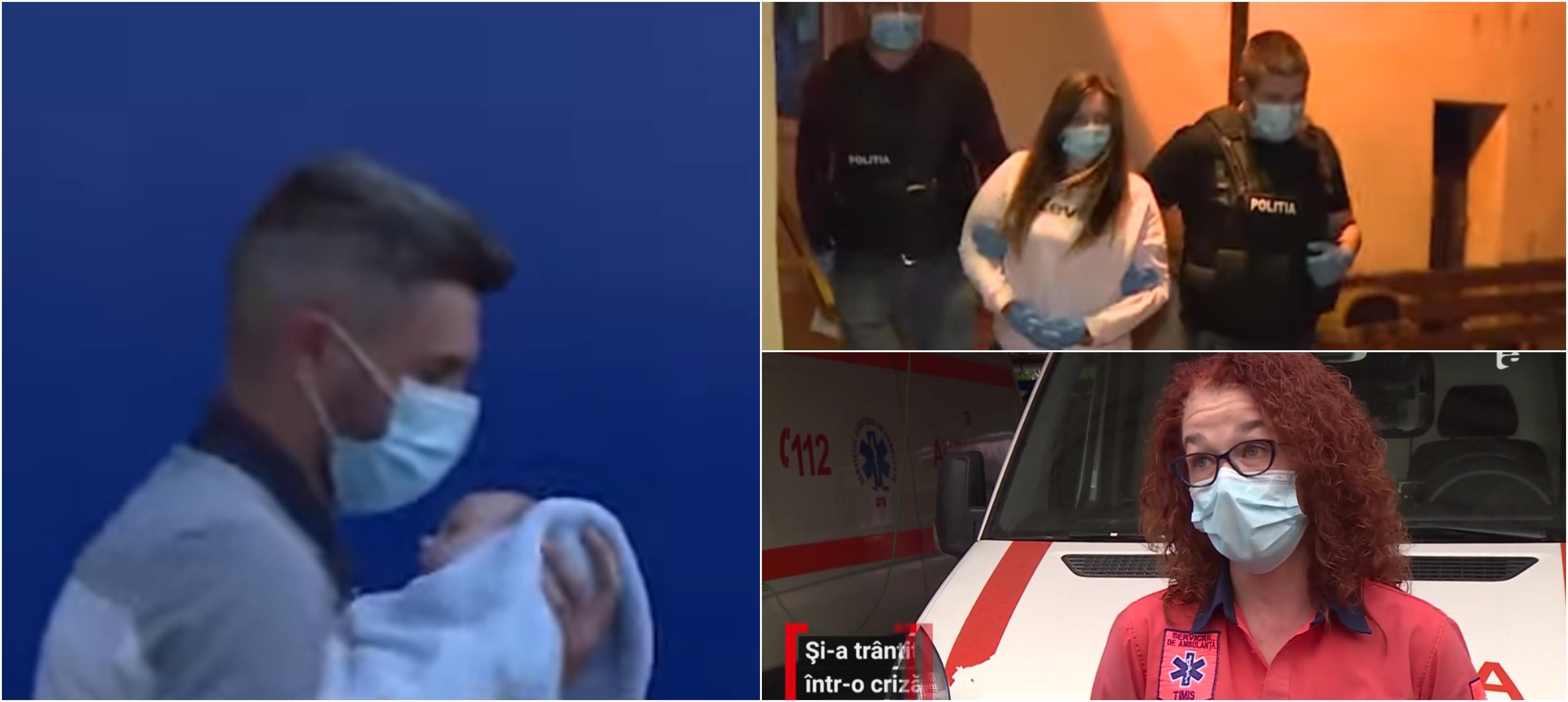 O mamă și-a aruncat bebelușul la pământ în timp ce se certa cu iubitul. Femeia a fost reținută în Timișoara VIDEO | Demamici.ro