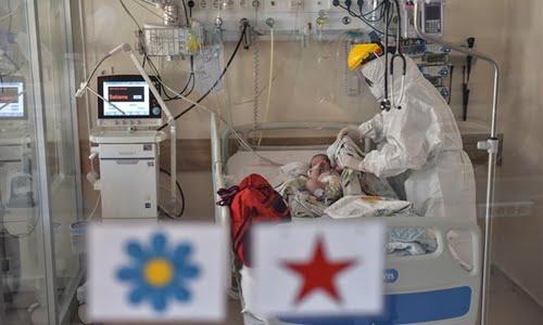 Bebeluș de 45 de zile, infectat cu COVID-19, externat de la Terapie Intensivă în aplauzele medicilor