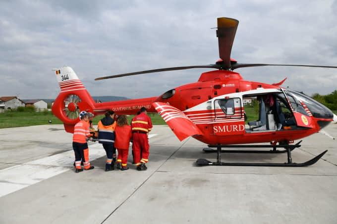 Asistent de pe un elicopter SMURD, solicitat să salveze viața unui băiețel. La fața locului, a aflat că era propriul lui copil