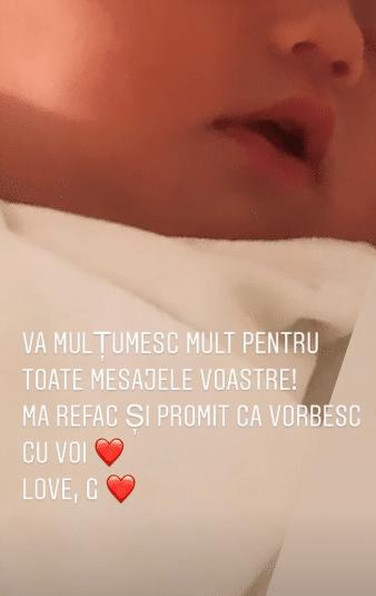 Gina Chirilă și-a arătat abdomenul la 3 zile după ce-a născut. Soția lui Bogdan Vlădău poartă centură postnatală   Demamici.ro