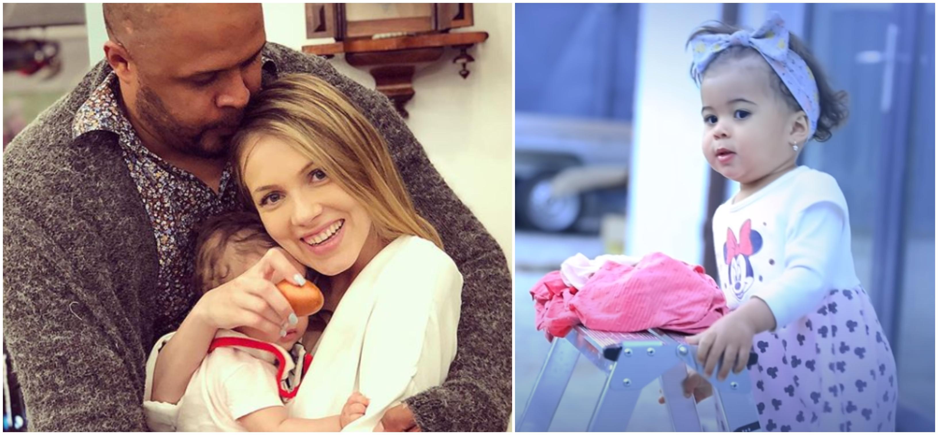 Cabral și Andreea Ibacka nu mai ascund chipul fetiței lor! Cât de frumoasă e Namiko și cu cine seamănă VIDEO | Demamici.ro