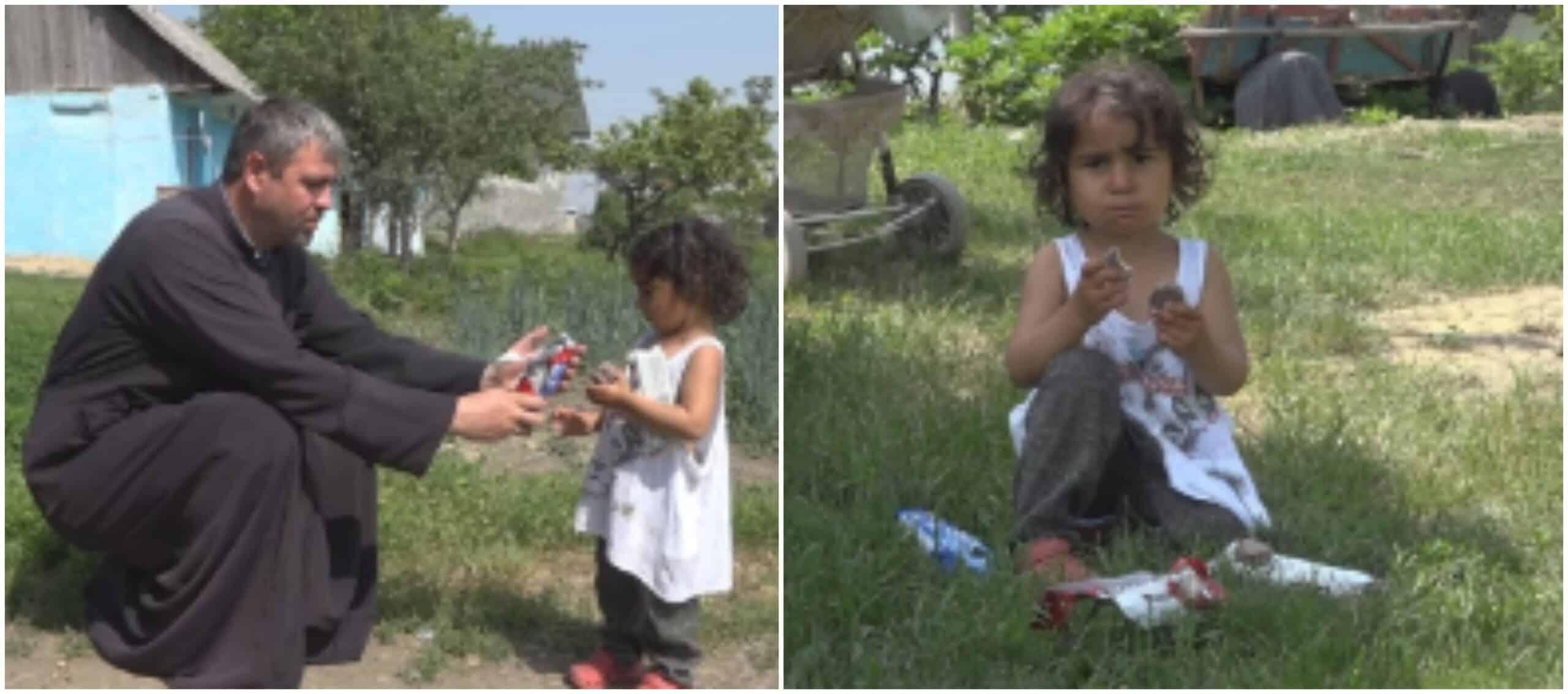 Trei copilași, abandonați de mama. Sorina are 3 ani și vrea mâncare, nu jucării   Demamici.ro