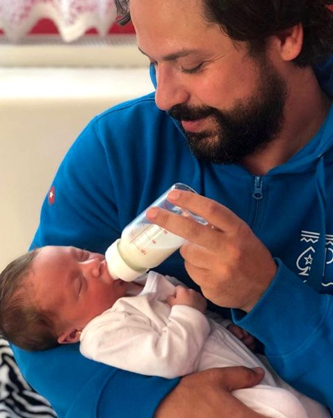 """Augustin Viziru, despre noua lui viață de tătic: """"Îmi crește inima când o văd"""""""
