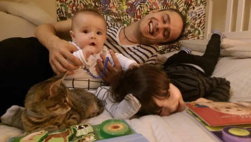Serban Copoț, din nou tătic! Vedeta a anunțat sexul celui de-al treilea bebeluș