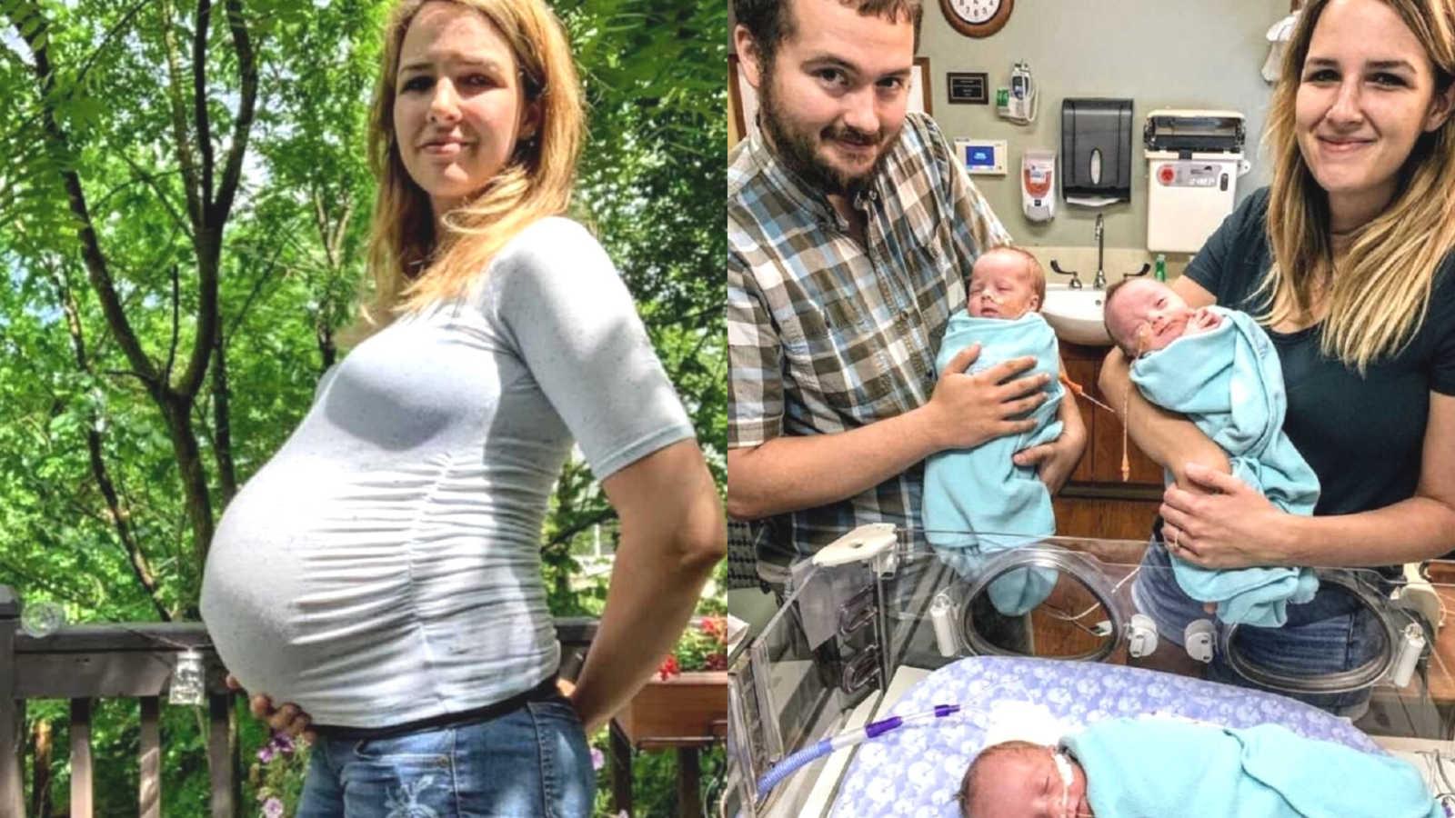 Mamă la 29 de ani cu 5 copii. Patru dintre ei sunt născuți în același timp