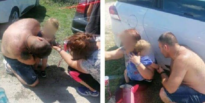 Înger salvator mereu la datorie. Un jandarm aflat la picnic a salvat viața unei fetițe de 1 an și 7 luni |Demamici.ro