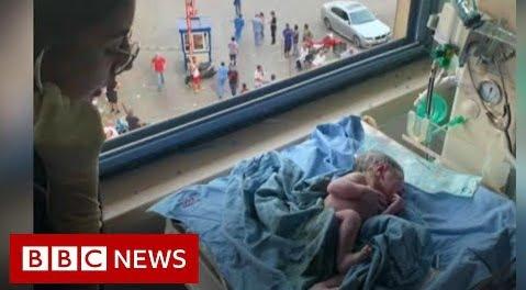 """A venit pe lume în timpul exploziei de la Beirut. Momente de panică în sala de naștere: """"Căzuse tavanul peste ei, credeam sunt răniți!""""   Demamici.ro"""