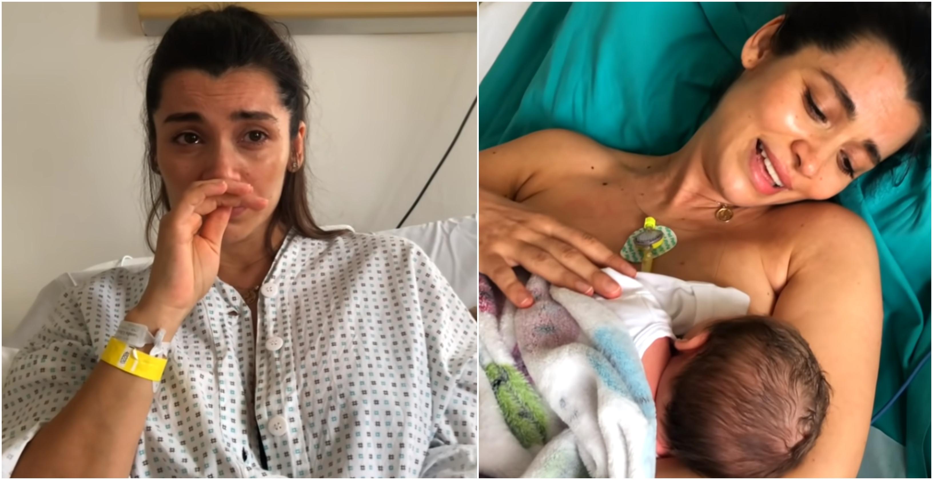 Lili Sandu a povestit cu lacrimi în ochi de ce bebelușul ei a avut nevoie de mai multe zile de spitalizare VIDEO | Demamici.ro