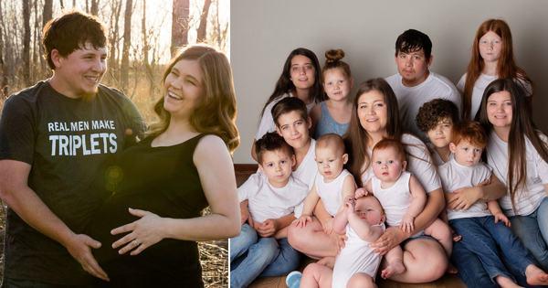 Ea este mama cu 11 copiii si care schimba 600 de scutece saptamânal: