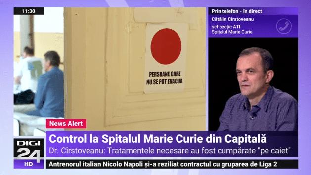 """Controale la Spitalul """"Marie Curie"""". 30 de bebeluși au murit în ultimul an. Medicii nu au avut cum să-i trateze   Demamici.ro"""