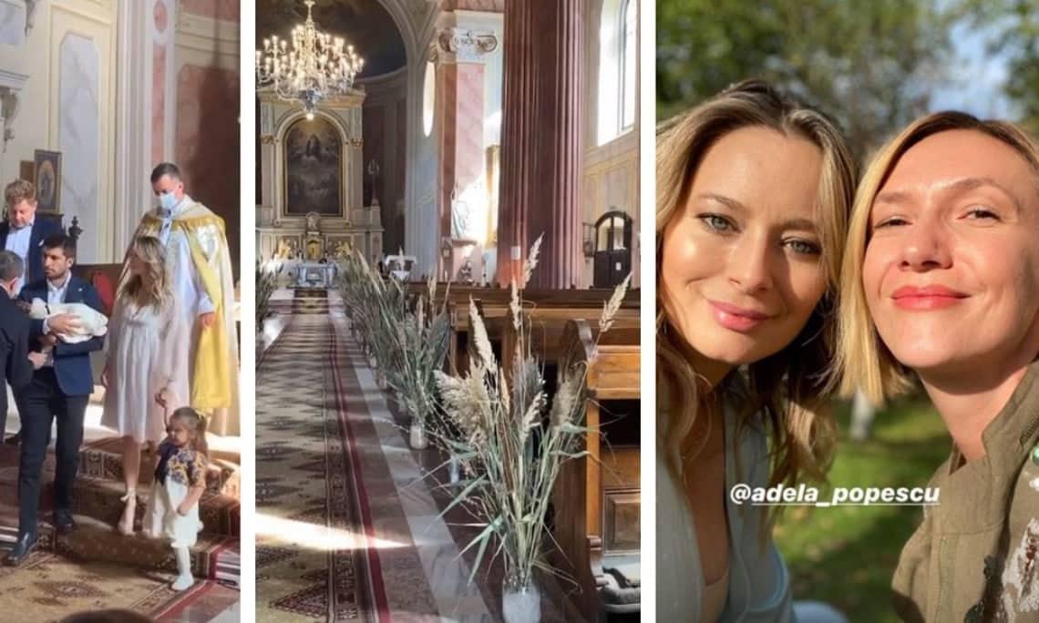 """Laura Cosoi, botez tradițional în Maramureș, pentru fetița ei, Vera: """"Binecuvântarea noastră"""""""