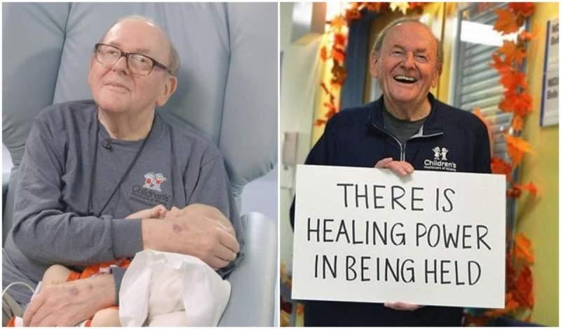 """""""Bunicul de la Terapie Intensivă"""", cel care a îngrijit timp de 14 ani bebelușii bolnavi, a murit răpus de cancer"""