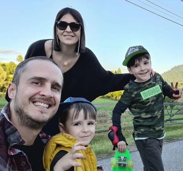 Șerban Copoț a devenit tătic pentru a treia oară. Soția lui a născut prima lor fetiță