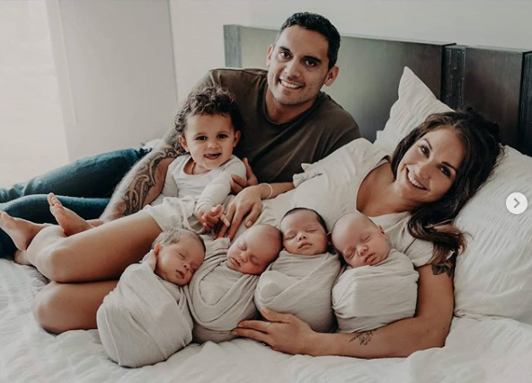 A devenit mămică de cvadrupleți după ce s-a luptat cu infertilitatea ani în șir | Demamici.ro