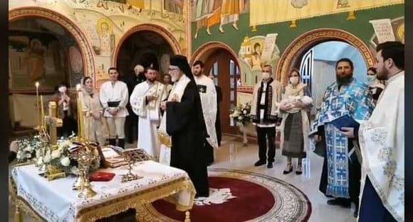 Alina Binder și Nicolae al României și-au botezat fetița. Imagini emoționante cu strănepoata Regelui Mihai I