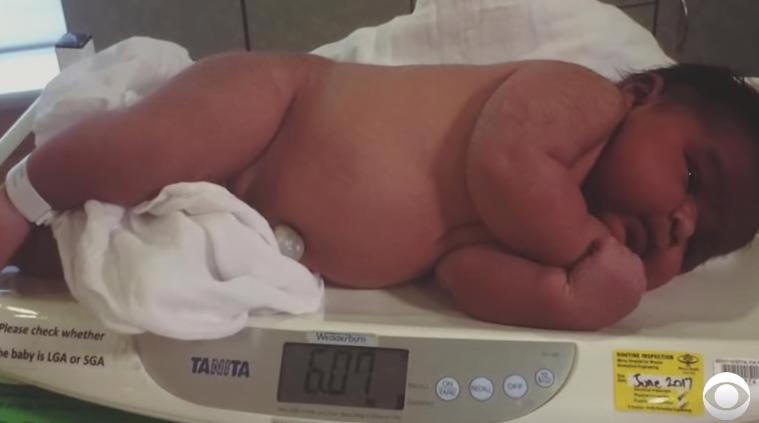 A născut un bebeluș de 6,01 kg fără epidurală. Băiețelul a venit pe lume la 40 de săptămâni | Demamici.ro