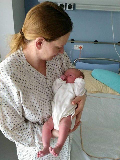 """Naștere de vis într-un spital de stat din Austria. Maria: """"M-am simțit ca un musafir într-un hotel, nicidecum ca o pacientă""""   Demamici.ro"""