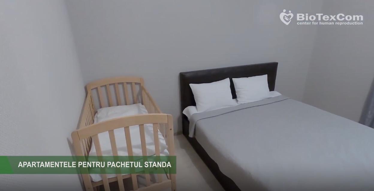 Părinți prin reproducere umană asistată. Cum arată apartamentele în care sunt cazați clienții clinicii BioTexCom în timpul șederii lor în Kiev VIDEO   Demamici.ro