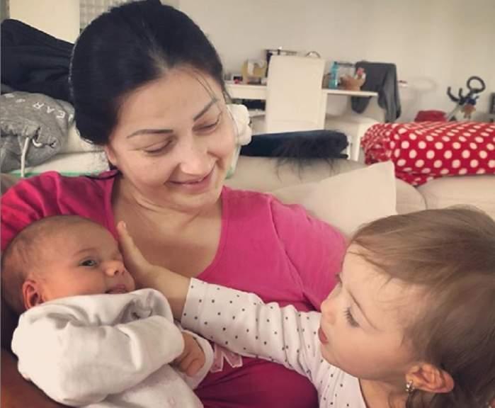"""Gabriela Cristea vrea să apeleze la un psiholog pentru fetița cea mică: """"Nu știm ce să mai facem. Mă gândeam la un psiholog pentru bebeluși"""""""