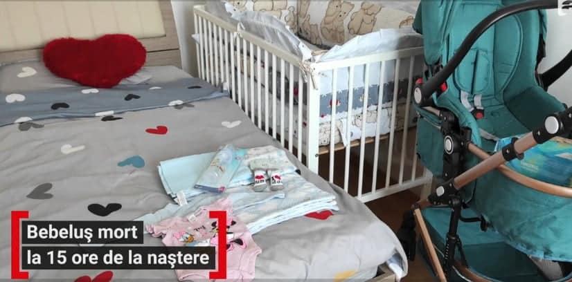 Doi părinți din Argeș trec prin cea mai mare durere. Le-a murit bebelușul sub ochii medicilor, la câteva ore de la naștere
