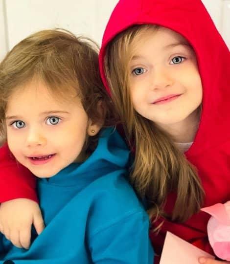 Sărbătoare în familia Gabrielei Cristea. Fetița cea mică, Thea Iris, a împlinit 2 ani