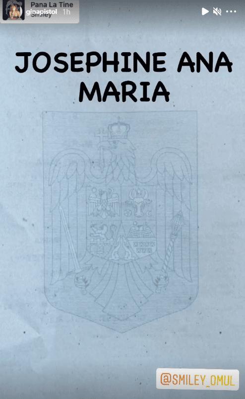 Gina Pistol și Smiley au dezvăluit prenumele pe care l-au ales pentru fetița lor | Demamici.ro