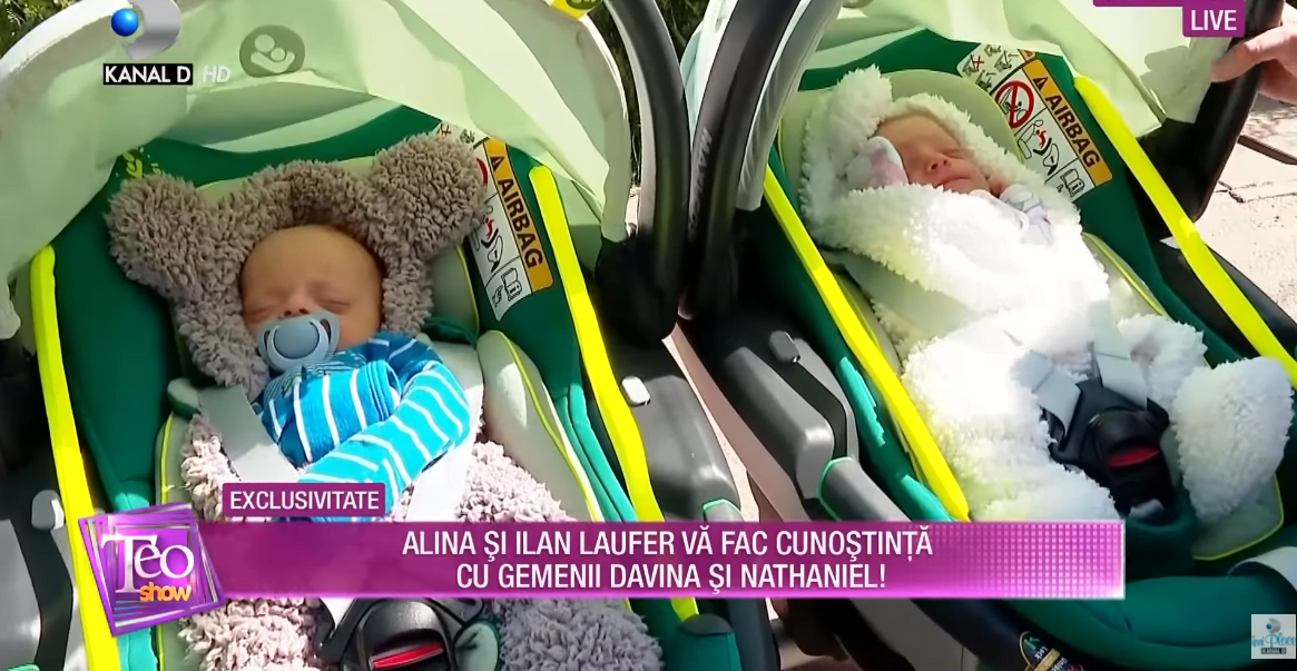 Alina Laufer, ipostază emoționantă în parc cu gemenii. Mămica a explicat de ce nu își botează copiii | Demamici.ro