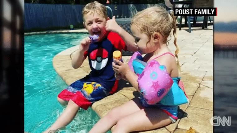 Un băiețel de 7 ani a înotat timp de o oră pentru a-și salva tatăl și surioara, aflați în pericol de înec | Demamici.ro