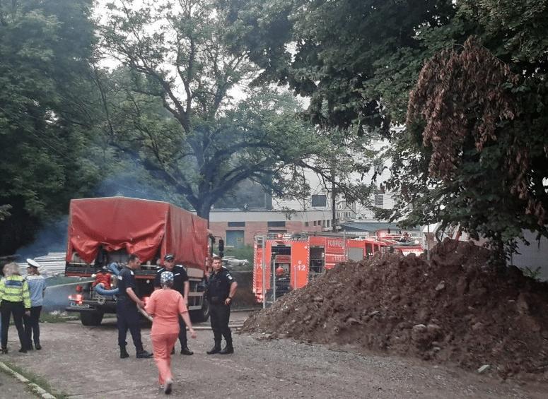 """Incendiu la Spitalul de copii """"Sf. Maria"""". A fost activat Planul Roșu de intervenție la nivelul județului Iași VIDEO   Demamici.ro"""