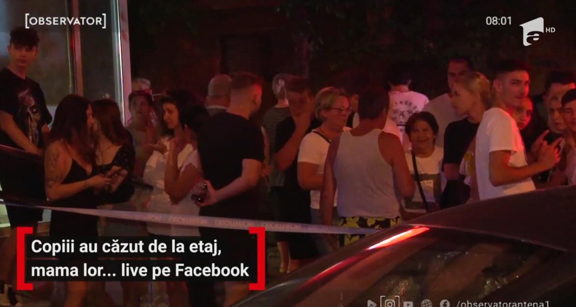 Gemeni de doi ani din Ploiești au murit după ce au căzut de la etajul 10. Mama făcea live pe Facebook | Demamici.ro