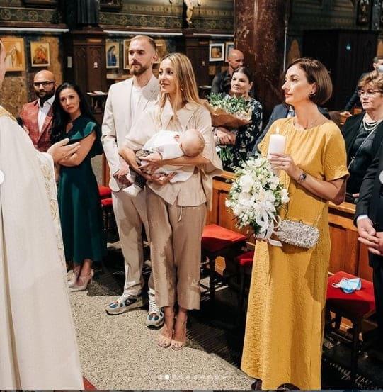 """Flavia Mihășan și-a botezat cel de-al doilea băiețel: """"E o binecuvântare să fim părinții tăi"""""""